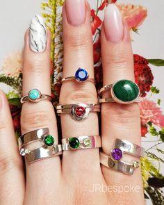 All you need is ̶l̶o̶v̶e̶ jewellery 🌷 💍💎💙 All You Need Is Love, Silver Rings, Jewelry Making, Colour, Gemstones, Jewellery, Handmade, Etsy, Instagram