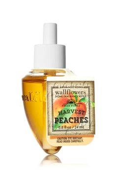 *Harvest Peaches Wallflowers Fragrance Refill - Slatkin & Co. - Bath & Body Works