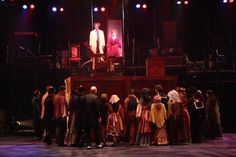 Attend the tale of Sweeney Todd!  ( on stage)