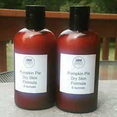 Pumpkin pie Lotion - dry skin lotion - winter skin lotion - healing lotion - chapped skin lotion by HannaHerbals on Etsy