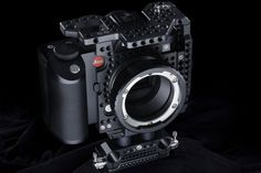 """Designed to fit like a glove around the Leica SL (Typ 601) the Metal Jacket – Cinema Production Cage for Leica SL (Typ 601) to use the full name is designed and field tested by cinematographers and mastercrafted in Italy (lake Como) by LockCircle. Available in """"Classic Black"""" anodized finish, in hard anodized (Mil-Spec) """"Dura-T"""