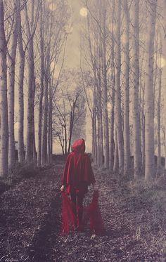Little Red Riding Hood by PrincessInTheShit.deviantart.com on @deviantART