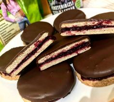 Cookie Recipes, Diet Recipes, Healthy Recipes, Healthy Food Options, Cheesecake, Food And Drink, Gluten Free, Vegan, Cookies