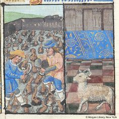 Book of Hours, MS M.175 fol. 2v - Images from Medieval and Renaissance Manuscripts - The Morgan Library & Museum