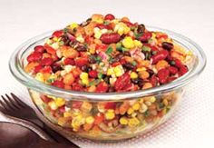 Pepper Bean Salad - Recipes at Penzeys Spices  A hit everywhere it goes--great for potlucks!