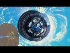 «Маленькая планета»׃ сферическая панорама с борта МКС