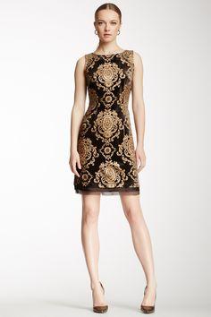 Baroque Shift Dress