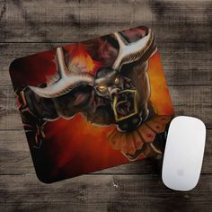 Black Alistar Mousepad League of Legends mouse pad LoL gamer playmat #UnbrandedGeneric