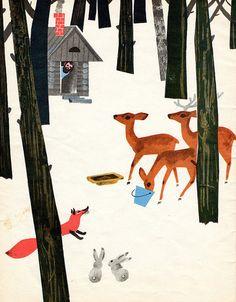 Mikhail Belomlinsky, Wonders under the feet, 1967.