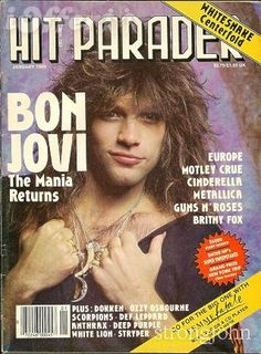 Bon Jovi 80s, Jon Bon Jovi, Wild In The Streets, Bon Jovi Pictures, Shaggy Long Hair, Music Photographer, Ozzy Osbourne, Van Halen, Led Zeppelin