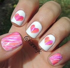 Cute nail idea No link Credit on image from ig