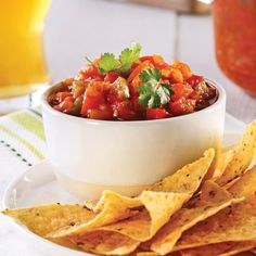 Salsa traditionnelle Mexican Food Recipes, Healthy Recipes, Ethnic Recipes, Antipasto, Salsa Tomate, Guacamole Salsa, Spice Mixes, Nachos, Food To Make
