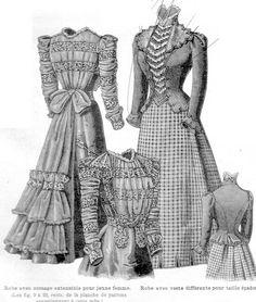 4 décembre 1898, La Mode Illsutrée