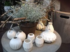 Different White vases #Sweden #ItemsForShops #ButiksProdukter #2have #Decor #Followme #Lovemyjob #Salesrep