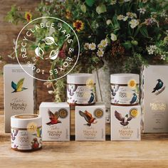 GOING ONE BETTER FOR NATURE. Tahi's honey jars are 100% recyclable, made up of 70% recycled plastic and 30% virgin plastic to meet international food regulations, while the cardboard in our gift packs is also recycled and recyclable.  We also offset our (comparatively light) carbon footprint through the planting and the wetland restorations we have done at Tahi. It's our way of going one better for nature, in every way we can. 🌼 🐝  #recycle #environment #restoration Honey Jars, Manuka Honey, Carbon Footprint, International Recipes, Planting, Restoration, Recycling, Environment, Meet