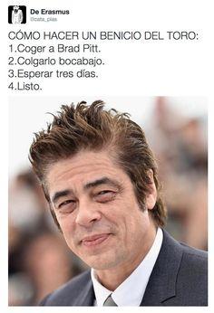 CÓMO HACER UN BENICIO DEL TORO. #humor #risa #graciosas #chistosas #divertidas