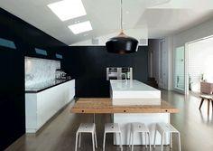 Renovated kitchen Federation house NZ 2