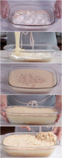 Você não imagina a delícia que é essa sobremesa… E como é feita? MUITO FÁCIL! CONFIRA! #sobremesa #torta
