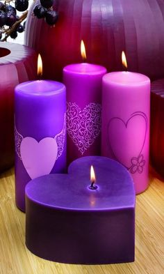 Candles is one of the most commonly used accessories. You can use candles for decorations in every room. We share with you decorative candles in photo gallery. Candle Art, Candle Lanterns, Diy Candles, Scented Candles, Pillar Candles, Decorative Candles, Candle Gifts, Luxury Candles, Good Night Image