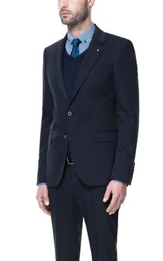 Image 2 of STRUCTURED SUIT from Zara