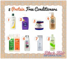 8 protein free conditioner choices for my low porosity natural hair. 8 protein free conditioner choices for my low porosity natural hair. Best Natural Hair Products, Natural Haircare, Natural Hair Tips, Natural Hair Journey, Natural Hair Styles, Low Porosity Hair Products, Hair Porosity, Curly Hair Tips, Curly Hair Styles