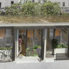 Could this be the future of social housing? Architecture firm, Levitt Bernstein have unveiled plans to turn disused garages into affordable homes Levitt Bernstein