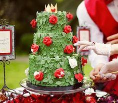awesome rose garden cake
