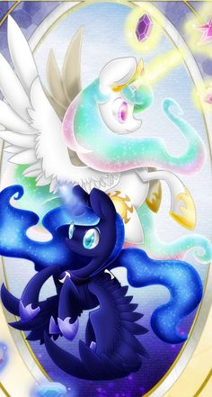 MLP: Celestia And Luna