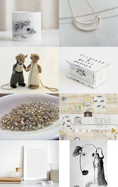 Simple and White by ILONA on Etsy--Pinned with TreasuryPin.com