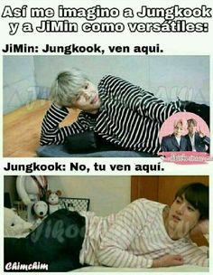 1 from the story Memes; [JiKookMin] by Junggukie- (JuNgg) with reads. Jikook, Jimin Jungkook, Yoonmin Fanart, Bts Memes Hilarious, Namjin, Bts Boys, Wattpad, Kpop, Parks