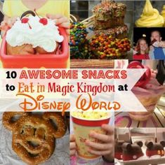 10 Awesome Snacks to Eat in Magic Kingdom at Disney World 10 tolle Snacks zum Essen in Magic Kingdom bei. Disney World Tipps, Disney World 2017, Disney World Food, Disney World Tips And Tricks, Disney Tips, Disney World Vacation, Disney Vacations, Disney Travel, Disney Cruise