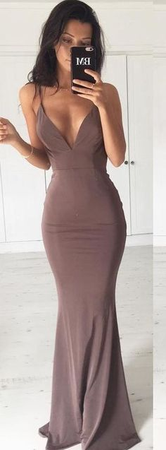 #summer #flirty #outfitideas Chocolate Gown