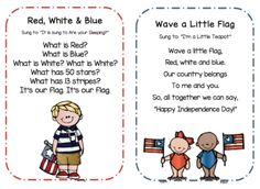 Preschool Songs for 4th of July