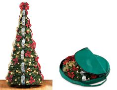 Instant Pop-Up Christmas Tree  @Yvonne Bent--here you go!