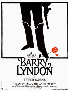 Barry Lyndon est un film de Stanley Kubrick avec Ryan O'Neal, Marisa Berenson. Synopsis : Au XVIIIe siècle en Irlande, à la mort de son père, le jeune Redmond Barry ambitionne de monter dans l'échelle sociale. Il élimine en duel son rival,u