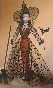 Image detail for -When you think Halloween dolls, Halloween Barbie dolls and some Madame Alexander dolls may come to mind for the ghoulish October holiday, but Gene Marshall, Madra ...