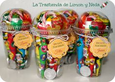 Get cups from Starbucks Candy Party, Party Treats, Party Favors, Festa Toy Story, Candy Bouquet, Candy Gifts, Candy Gift Baskets, Candy Bags, Ideas Para Fiestas