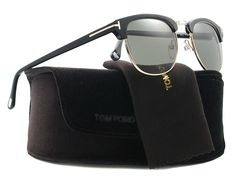 bd94b8cce914 Tom Ford Sunglasses - Henry / Frame: Shiny Black with Green Gradient Lens