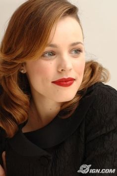 Rachel McAdams. I didn't like her at first because of the Notebook, but after that, she has been doing amazing recently.
