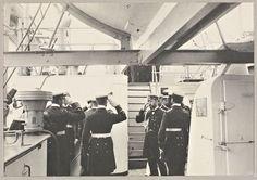Emperor Nicholas II of Russia on board a German cruiser Berlin