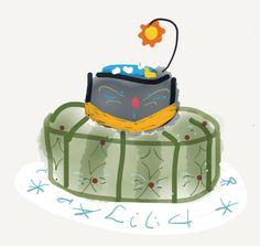 Croquis du gâteau
