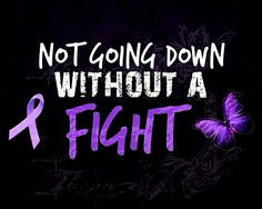 ''Not going down without a fight.''  Rheumatoid Arthritis