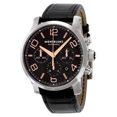 Montblanc Timewalker Chronograph Automatic Black Dial Men's Watch 101548