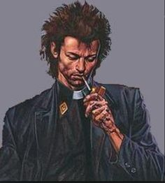 Reverend Jessie Custer from the Preacher
