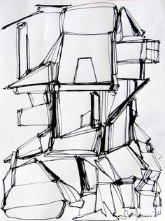 line drawing, cool