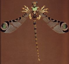 Rene Lalique Jewelry Brooches and Buckles