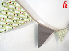 """Weihnachtsdeko - Wimpelkette """"Weihnachten"""" - ein Designerstück von habseligkeiten bei DaWanda"""