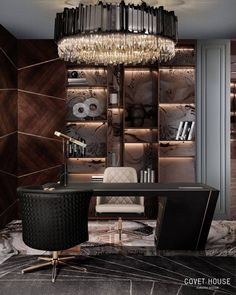 Home-Office-The-Importance-Of-Interior-Design-4 Home-Office-The-Importance-Of-Interior-Design-4 Office Interior Design, Home Office Decor, Office Interiors, Office Designs, Office Furniture, Millionaire Homes, Luxury Office, Celebrity Houses, Modern Classic