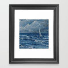 befor the storm Framed Art Print by sliackyjo Art For Sale, Framed Art Prints, My Arts