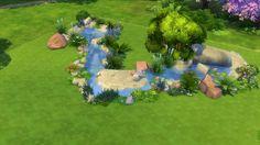 Erstellung eines natürlichen Flusslaufes